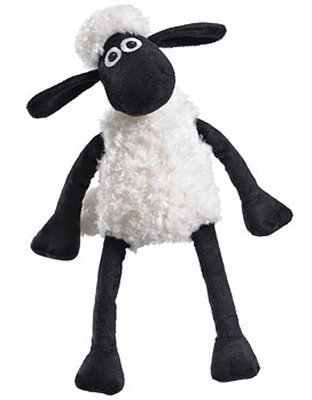 CHARACTERS SHAUN THE SHEEP MEDIUM SH923520 CC CCSH Plush Sitting Shaun The Sheep CharacterbrFrom Aardman Animations Studiobrbr